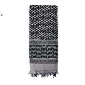 ROTHCO Men's Lightweight Shemagh Tactical Desert Scarves